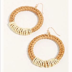 Free people manu bay hoop earring